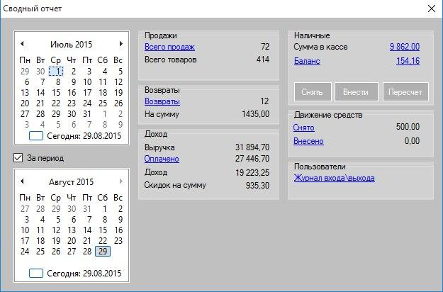 Сводный отчет GBS.Market